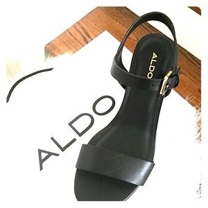 NEW IN BOX  Aldo wedge sandals